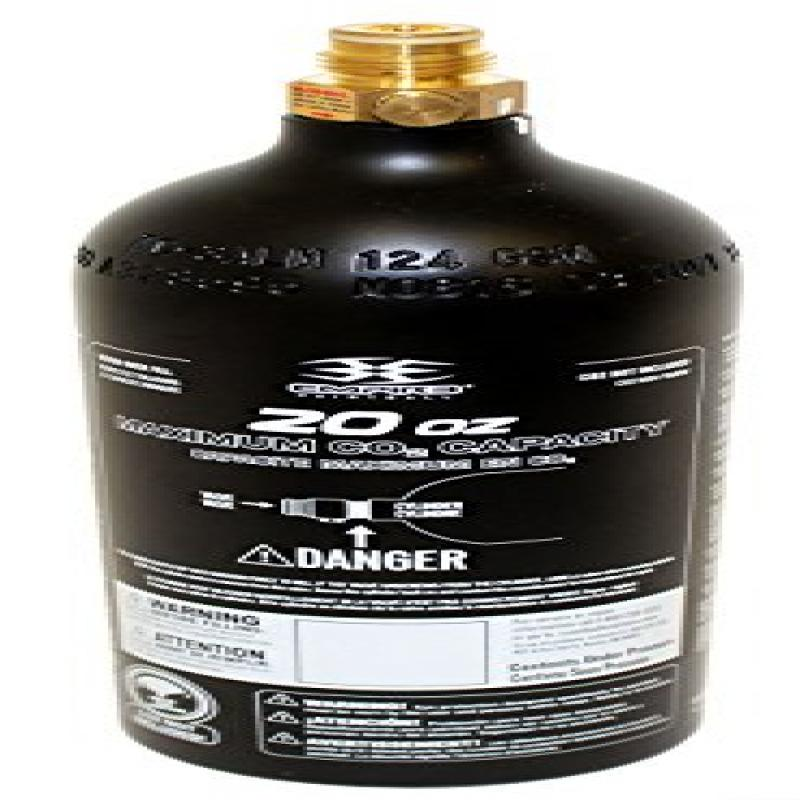Trinity 20 Oz Co2 Tank , Paintball AIR Tank by