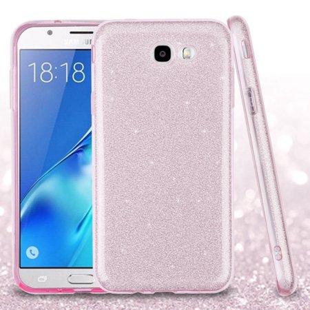 For Samsung Galaxy J7 PERX J7V SHINE HYBRID HARD Case Rubber Cover +Screen Guard