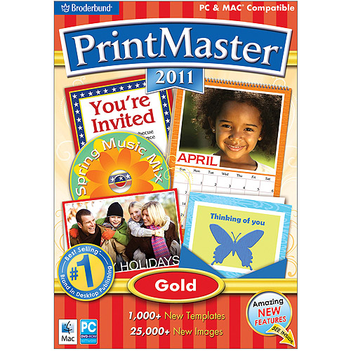 Printmaster Gold 2011 (PC, Mac)