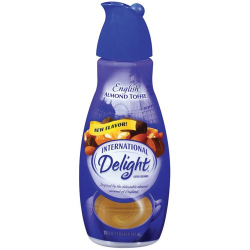 International Delight English Almond Toffee Coffee Creamer, 32 fl oz
