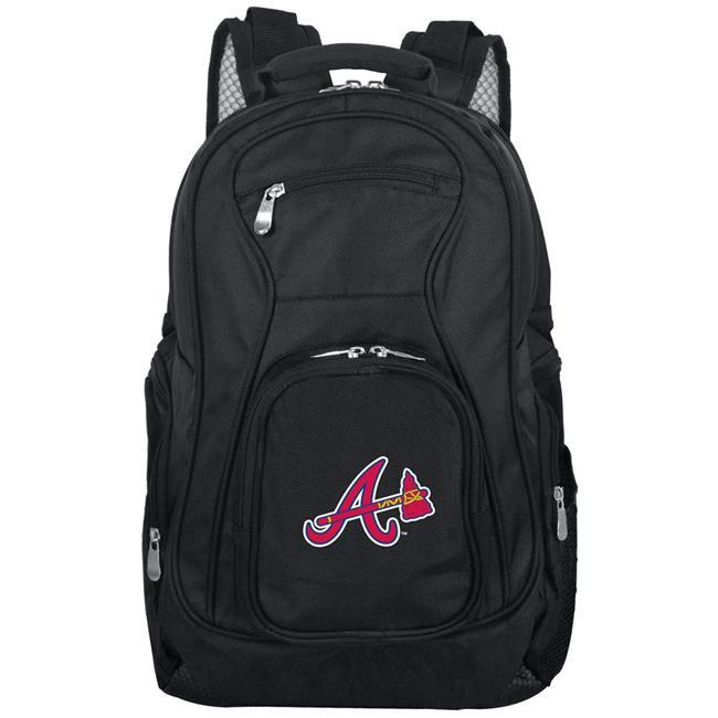 Denco Sports Luggage MLATL704 19 in. Mojo Atlanta Braves Premium Laptop Backpack, Black - image 1 de 1