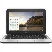 Refurbished HP Chromebook 11 G4 11.6 Chromebook - Intel Celeron N2840 Dual-core (2 Core) 2.16 GHz - Black P0B79UT#ABA