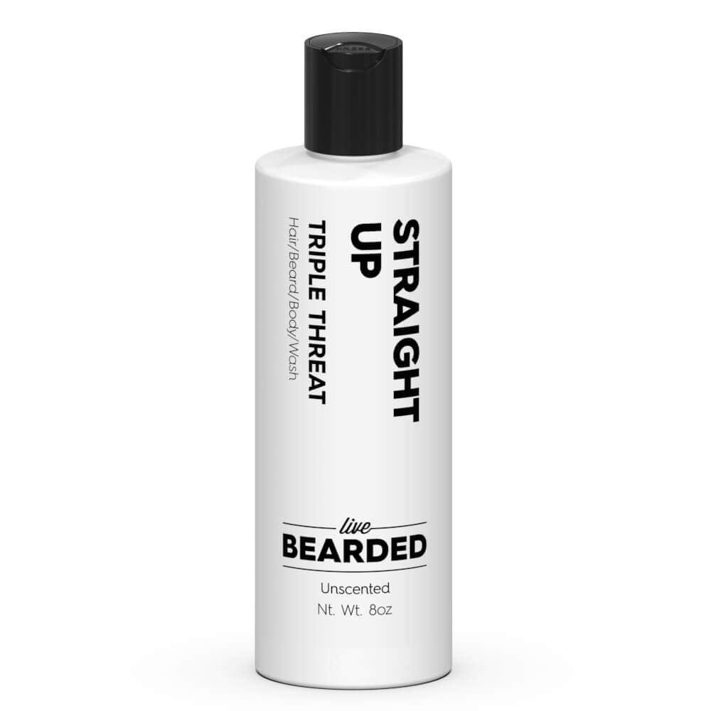 Unscented Beard Wash