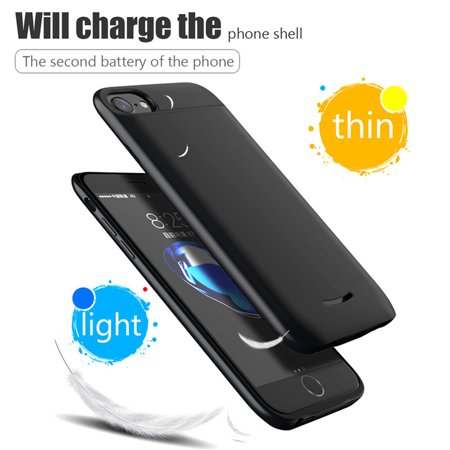 Maraso 7500mAh External Battery Case Power Bank Charger Cover For iPhone 8 7 6 6S