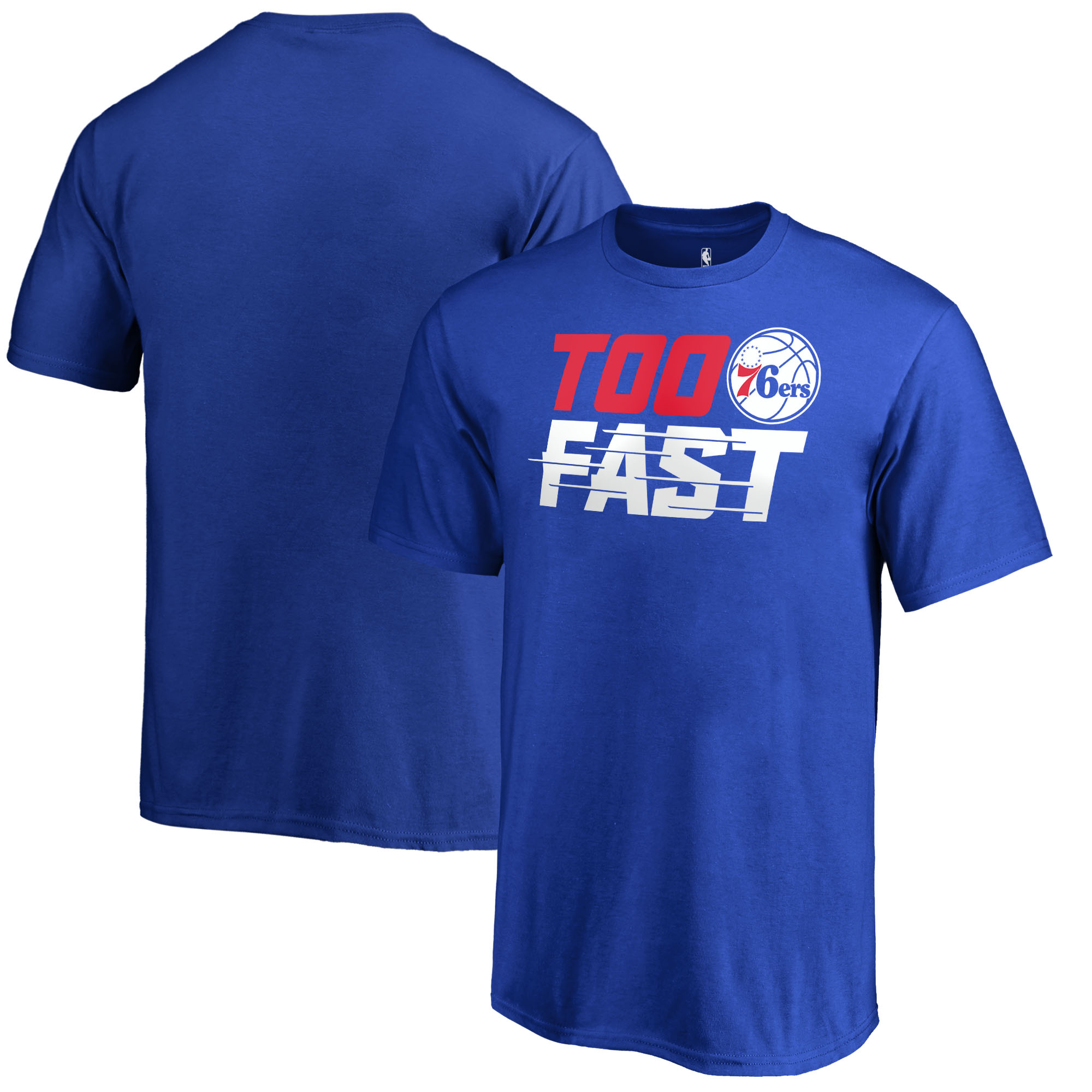 Philadelphia 76ers Fanatics Branded Youth Too Fast T-Shirt - Blue