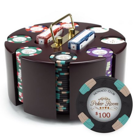 Brybelly 200ct Claysmith Gaming Poker Knights Chip Set in