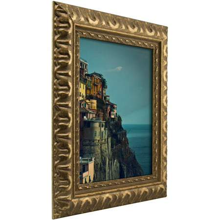 Craig Frames Bravado Ornate Antique Bronze Picture Frame