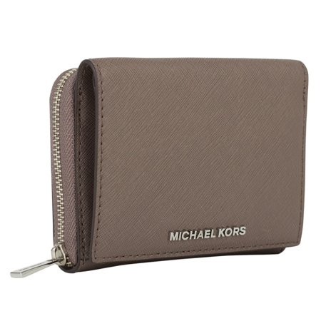 ce331bfc3471 MICHAEL Michael Kors - Michael Kors Small Wallet Jet Set Travel Cinder  Zip-around Billfold - Walmart.com