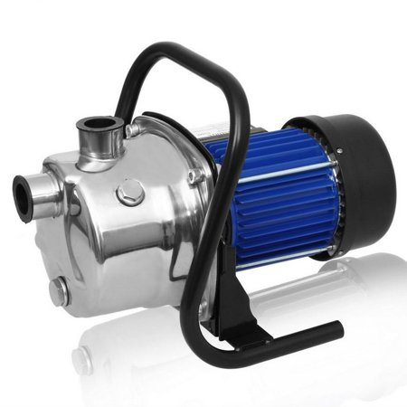 1.6HP 1200W 3200L Practical Booster Automatic Pump Stainless Shallow Well Pump Lawn Sprinkling Pump for Home Garden Irrigation Water Supply