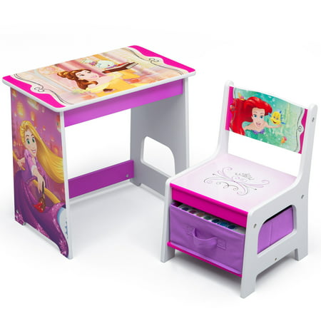 Groovy Disney Princess Kids Wood Desk And Chair Set By Delta Children Short Links Chair Design For Home Short Linksinfo