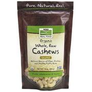 NOW Foods Organic Cashews, Raw 10 Ounce