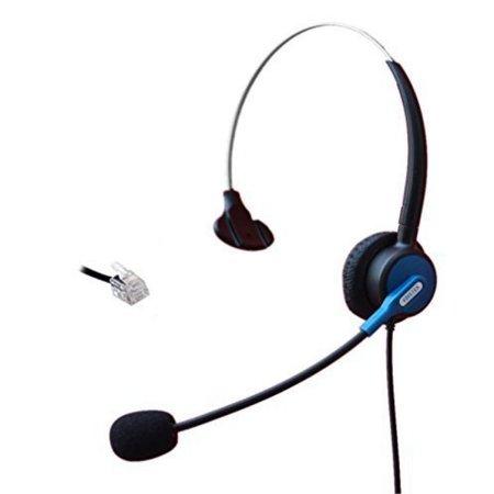 Comdio CH101A7 Corded Call Center Headset Headphones For Phone AVAYA Lucent 6402D 6408D 6416D M