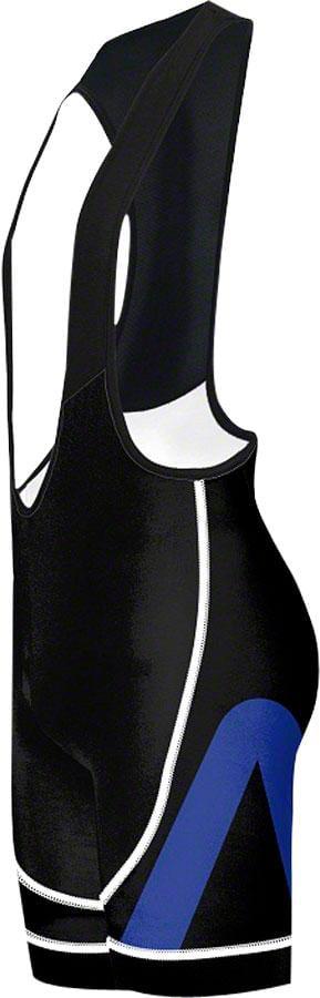 Primal Wear Aro EVO Men's Cycling Bib Short: Blue Black, XL by Primal Wear