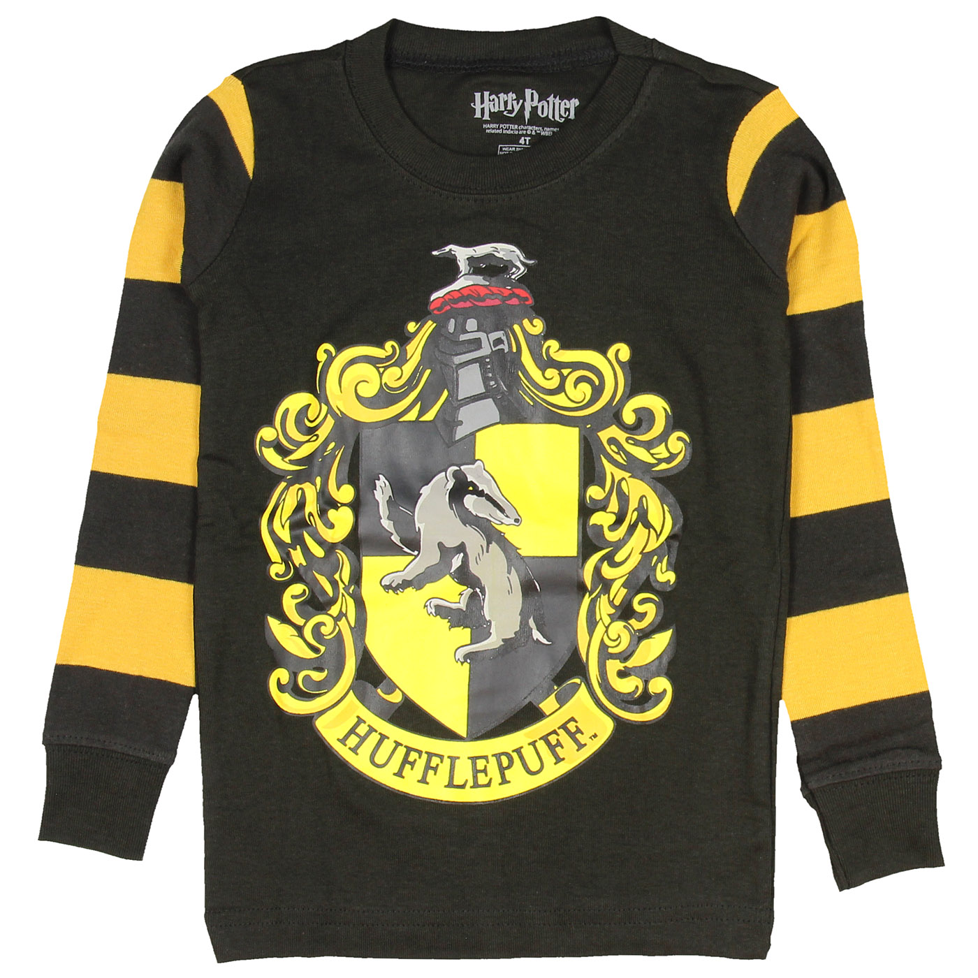 0834d9b72 Intimo - Harry Potter Pajamas Toddlers Kids Boys and Girls House Crest  Striped- Gryffindor, Ravenclaw, Hufflepuff, Slytherin - Walmart.com