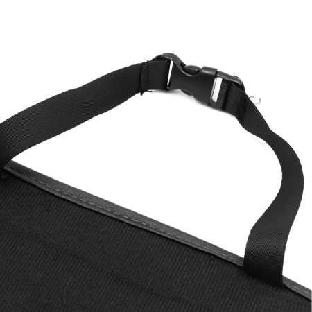 Car Black Seat Back Pocket Organizer Multi-function Holder Storage Hanging Bag - image 2 of 4