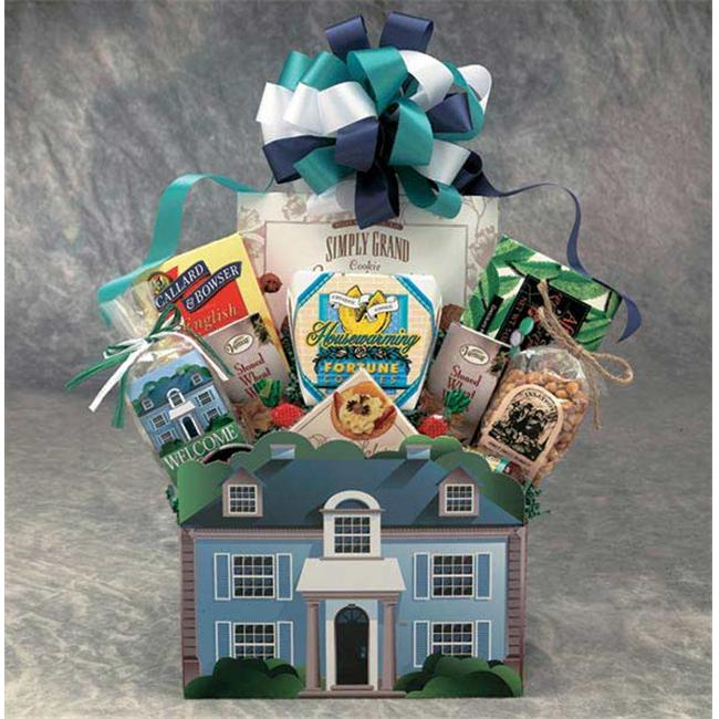 Gift Basket 82052 Medium Welcome Home Gift Box - Classic House Gift Box