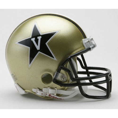 NCAA - Vanderbilt Commodores Riddell Mini Helmet