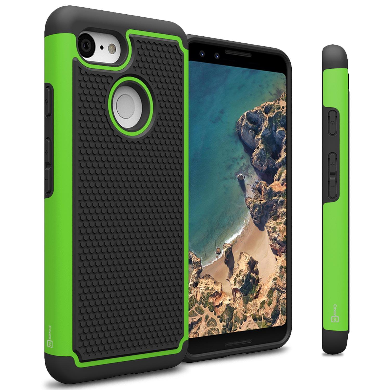 CoverON Google Pixel 3 Case, HexaGuard Series Hard Phone Cover