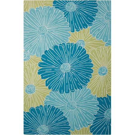 Nourison Fantasy FA25 Handmade Decorative Floral Rug