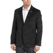 TailorByrd Mens Slim Fit Velvet Sportcoat 42 Regular Black