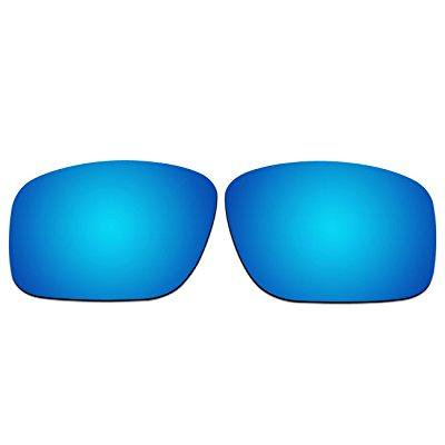 7e4e41ad6b1 ACOMPATIBLE Replacement Lenses for Oakley Mainlink Sunglasses OO9264 (Ice  Blue - Polarized)