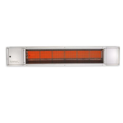 AEI Model S25 Gas Patio Heater Finish: Stainless Steel, H...