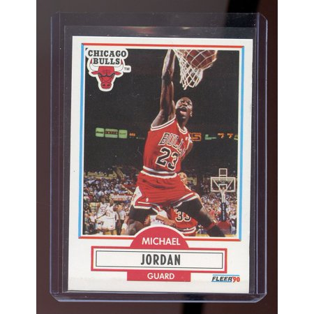 1990 Fleer #26 Michael Jordan Chicago Bulls Card 3rd Year Fleer Card