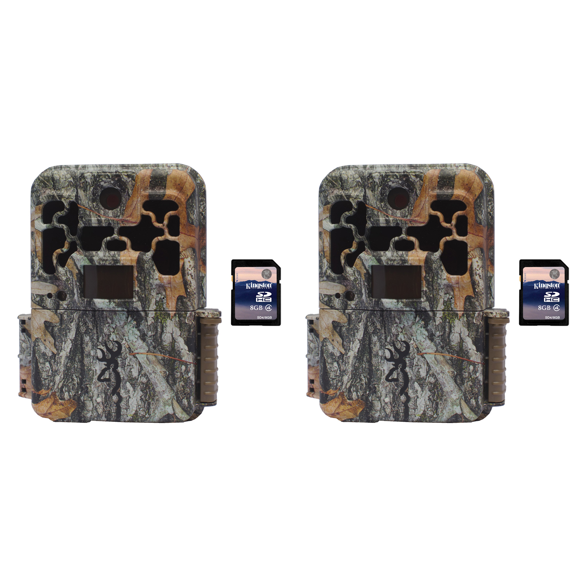 Browning Trail Cameras Spec Ops FHD Platinum 10MP Game Camera, 2 Pack + SD Cards by