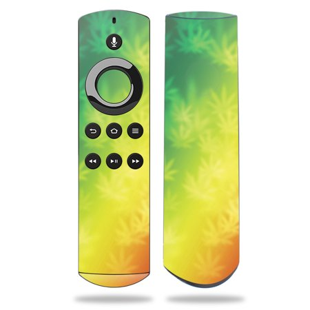 Skin for Amazon Fire TV Remote - Rasta Rainbow| MightySkins Protective, Durable, and Unique Vinyl Decal wrap cover | Easy To Apply, Remove, and Change Styles | Made in the USA