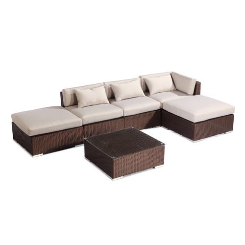 Kardiel Poipu 6 Piece Deep Seating Group