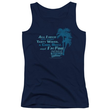 Fast Times Ridgemont High - All I Need - Juniors Tank Top - Large