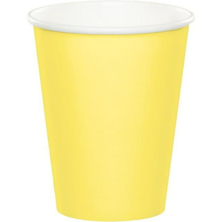 9 Oz Paper Cups (Creative Converting Paper Cups, 9 Oz, Yellow, 24)