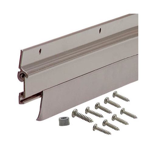 "M-D Products 07153 36"" Bronze Flex-O-Matic Automatic Door Sweep"