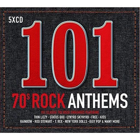 101 70s Rock Anthems / Various (CD) (Best Rock Anthems Of All Time)