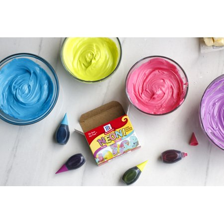 McCormick Neon Assorted Food Color & Egg Dye, 1 fl oz - Best ...