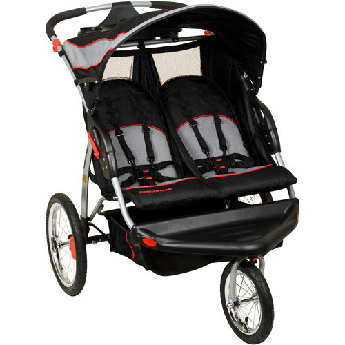 Baby Trend Expedition Swivel Double Jogger Baby Jogging Stroller Millennium by Baby Trend