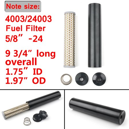 Billet Aluminum Filter Fit For Napa 4003 WIX 24003 5/8-24 1/2