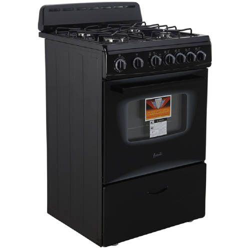 "Avanti 24"" Gas Range, Multiple Colors"