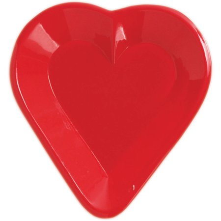 Creative Converting Card Night Heart Tray