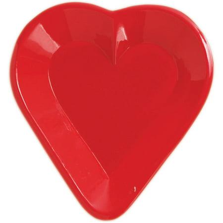 Creative Converting Card Night Heart Tray