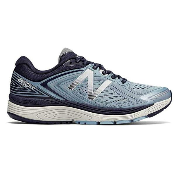 New Balance Women's 860v8 Running Shoe, Light Blue, 7.5 D US