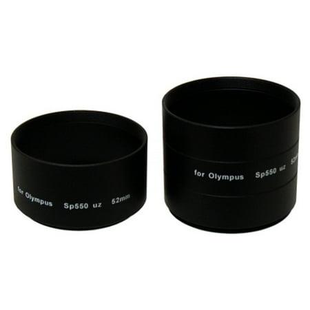 Sakar 52mm Lens Barrel Adapter For Olympus SP-550 / 560 Cameras