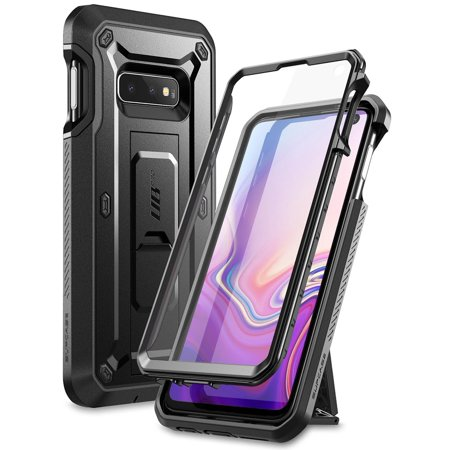 - SUPCASE Unicorn Beetle Pro Series Designed for Samsung Galaxy S10e Case (2019 Release) Full-Body Dual Layer Rugged with Holster & Kickstand with Built-in Screen Protector (Black)
