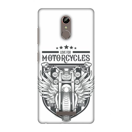 Gionee S6s Case - Love for Motorcycles 3, Hard Plastic Back Cover. Slim Profile Cute Printed Designer Snap on Case with Screen Cleaning