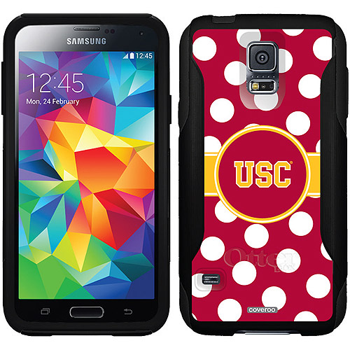 USC Polka Dots Design on OtterBox Commuter Series Case for Samsung Galaxy S5