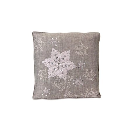 Light Gray Decorative Pillow : 15.5