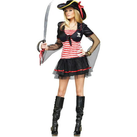 Black Pearl Pirate Adult Costume