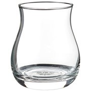 Wine Enthusiast Glencairn Wide-Bowl Whisky Glasses, Clear, Set of 4