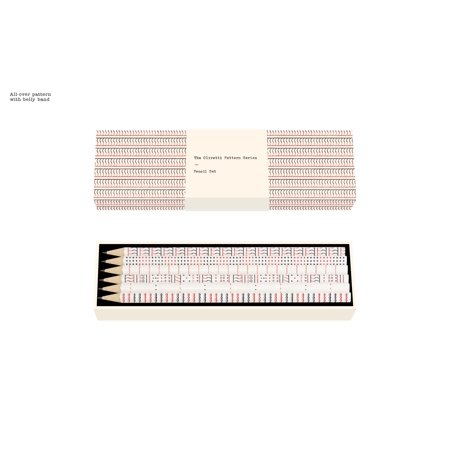 The Olivetti Pattern Series Pencil Set