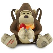 Singalong Buddies Plush Gorilla with Wired Microphone and Built-In Speaker